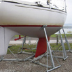 Transportable Yacht Cradle: Model TC9